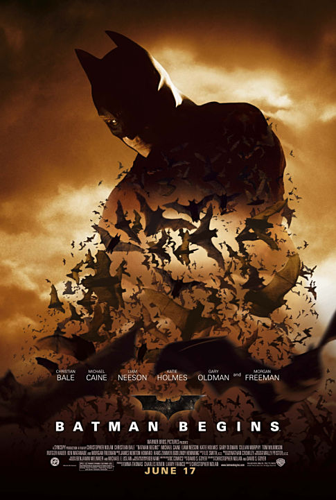 Cover van Batman Begins