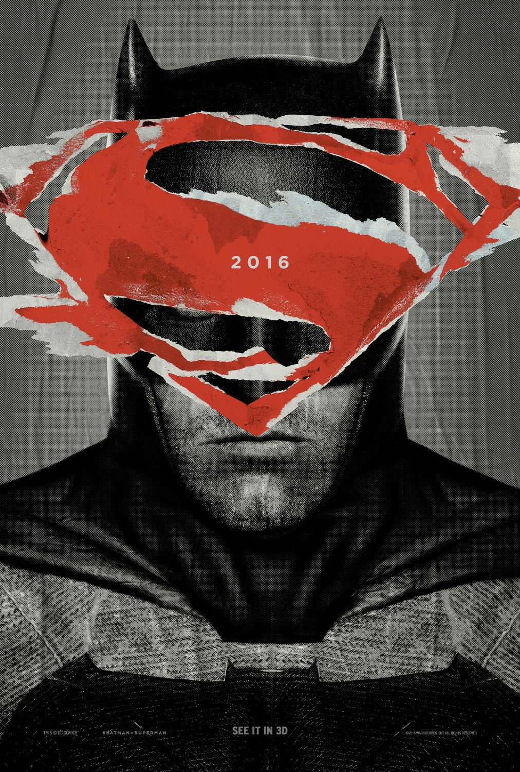 Cover van Batman v Superman: Dawn of Justice