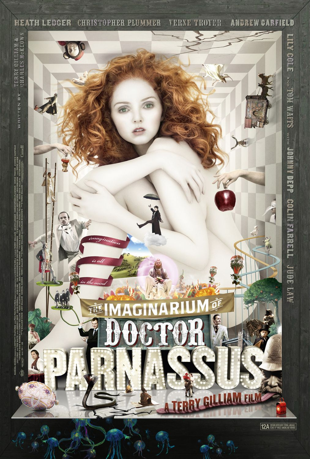 Cover van The Imaginarium of Doctor Parnassus