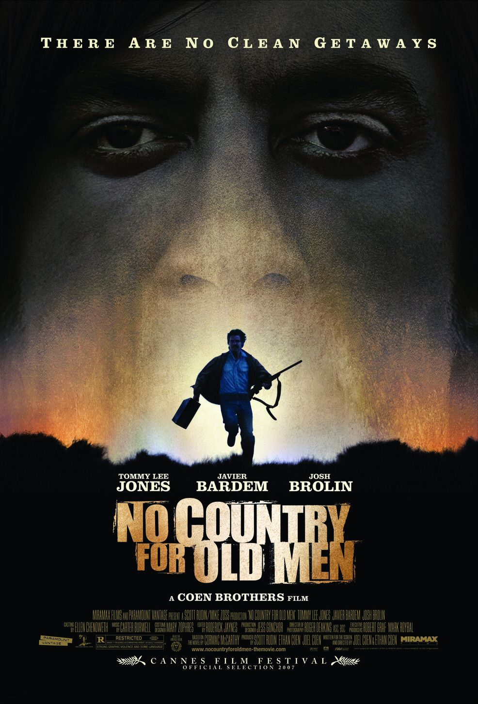 Cover van No Country For Old Men