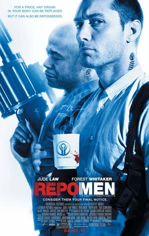 Cover van Repo Men