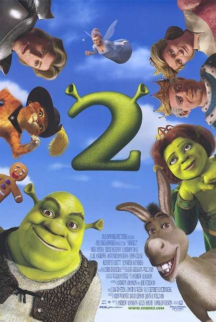 Cover van Shrek 2