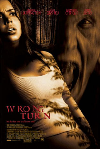 Cover van Wrong Turn