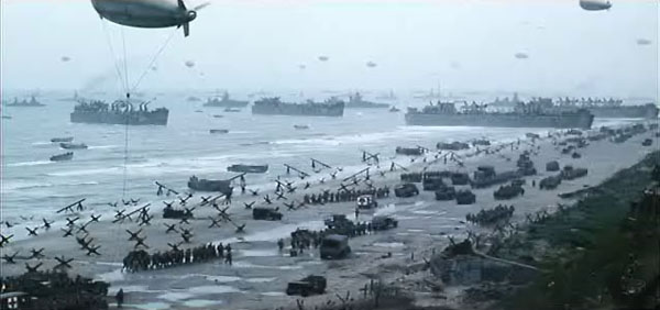 Reinforcements at the coast of Normandië
